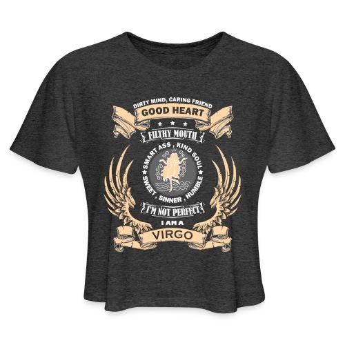 Zodiac Sign - Virgo - Women's Cropped T-Shirt