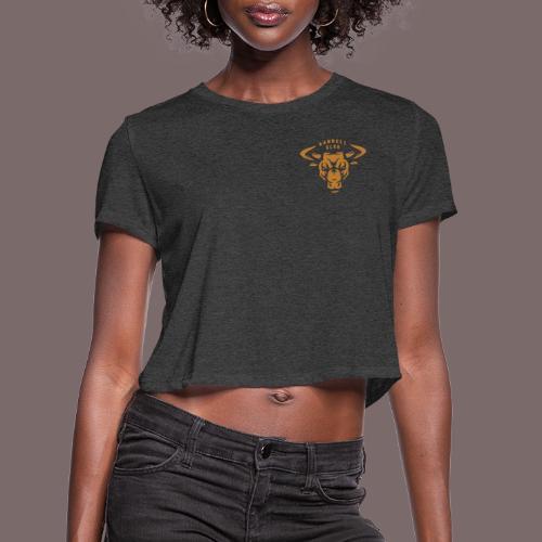 Bul Head Barbell Club - Women's Cropped T-Shirt