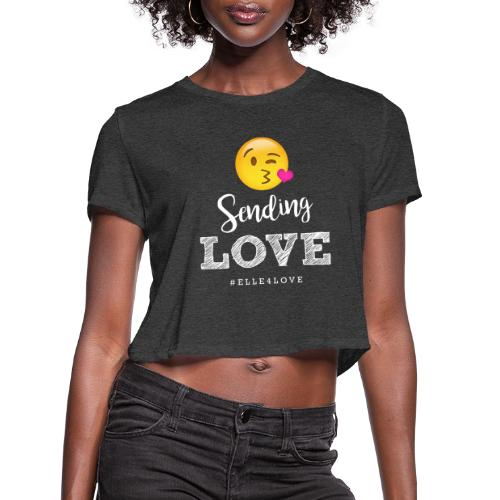 Sending Love - Women's Cropped T-Shirt