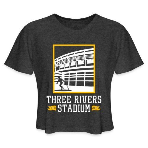 Three Rivers - Women's Cropped T-Shirt