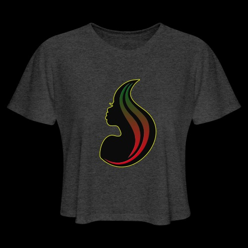 RBGgirl - Women's Cropped T-Shirt