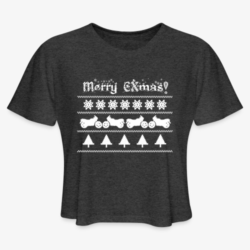Merry CXmas! - Women's Cropped T-Shirt