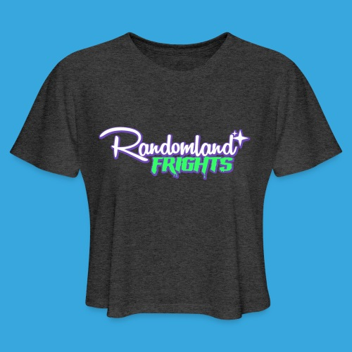 Randomland Frights - Women's Cropped T-Shirt