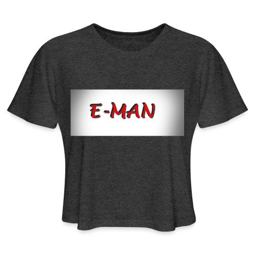 E-MAN - Women's Cropped T-Shirt