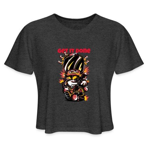 Semi-automatic - Women's Cropped T-Shirt