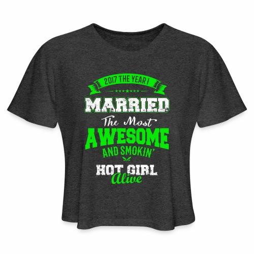 Married Husband - Women's Cropped T-Shirt