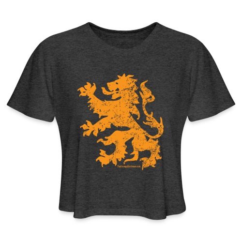 Dutch Lion - Women's Cropped T-Shirt