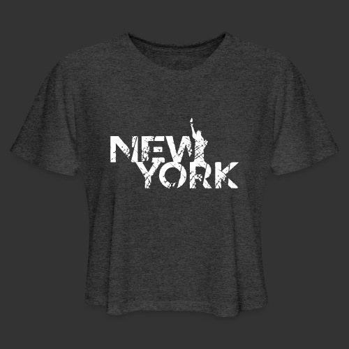 New York (Flexi Print) - Women's Cropped T-Shirt