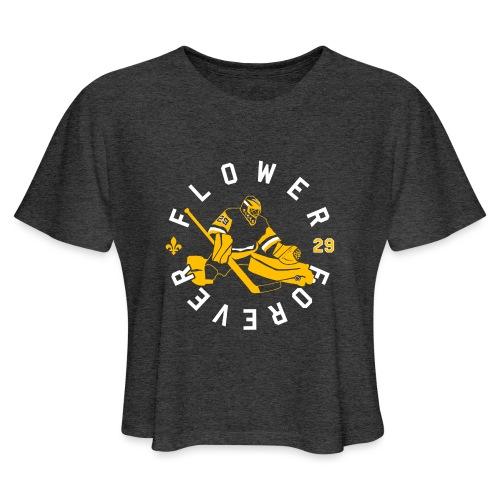 Flower Forever - Women's Cropped T-Shirt