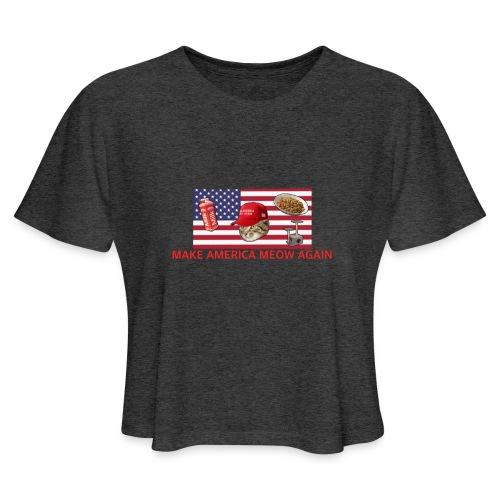 Make America Meow Again - Women's Cropped T-Shirt
