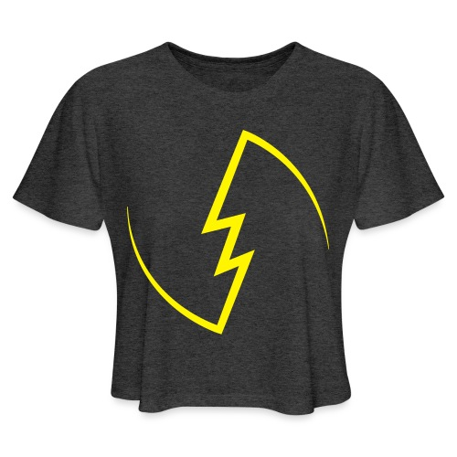 Electric Spark - Women's Cropped T-Shirt