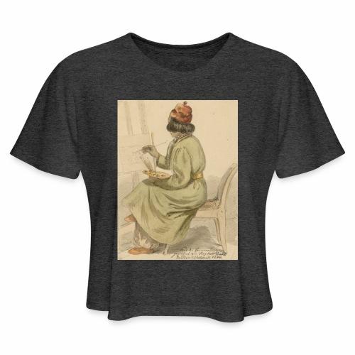 rs portrait sp 02 - Women's Cropped T-Shirt