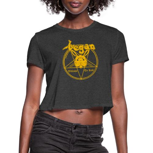 Welcome to Kale - Women's Cropped T-Shirt