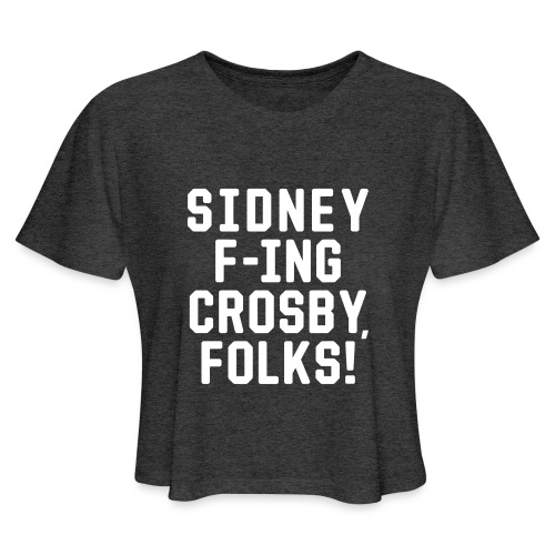 Folks! - Women's Cropped T-Shirt