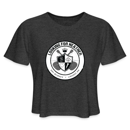 Looking For Heather - Crest Logo - Women's Cropped T-Shirt