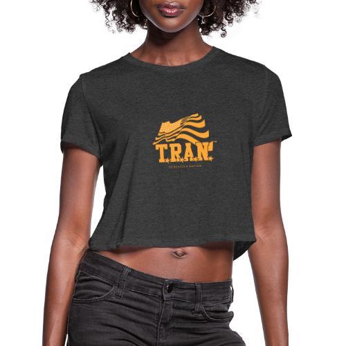 TRAN Gold Club - Women's Cropped T-Shirt