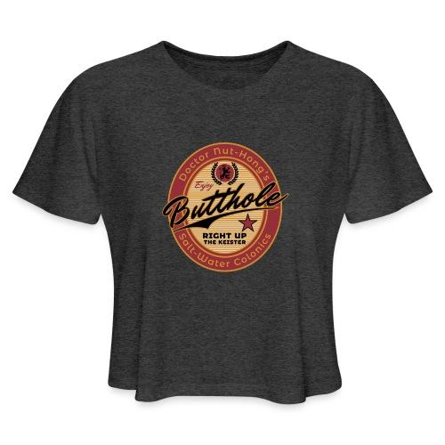 Nut-Hong's Colonics - Women's Cropped T-Shirt