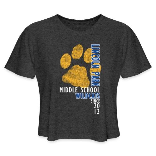 LPMS Vertical - Women's Cropped T-Shirt