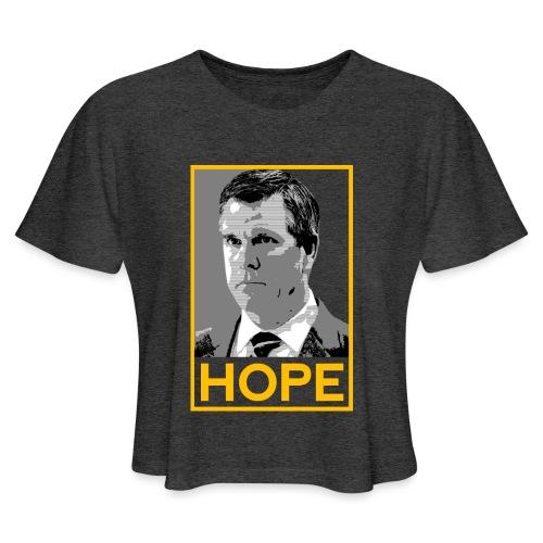 HOPE - Women's Cropped T-Shirt