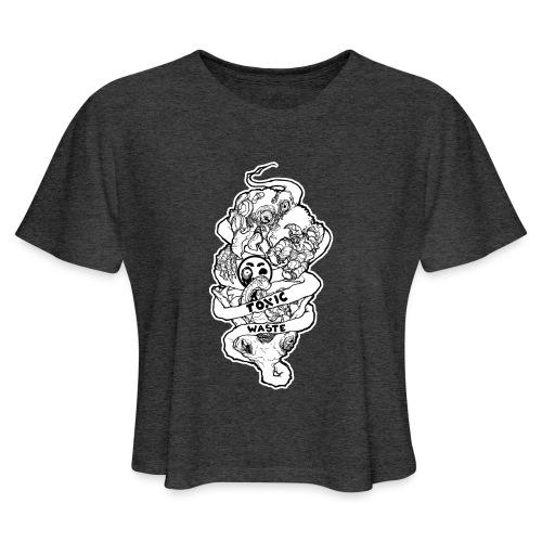 TOXIC WASTE - Women's Cropped T-Shirt