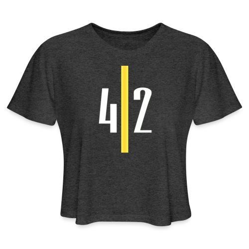 LIMITED EDITION PITTSBURGH EDITION YINZER CLUB - Women's Cropped T-Shirt