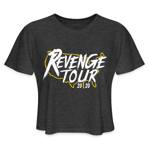 Pittsburgh Revenge Tour 2020 - Women's Cropped T-Shirt
