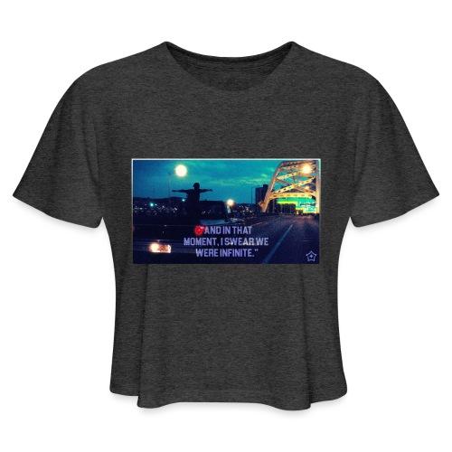 Infinite png - Women's Cropped T-Shirt