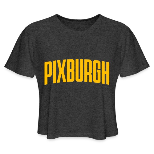 Pixburgh - Women's Cropped T-Shirt