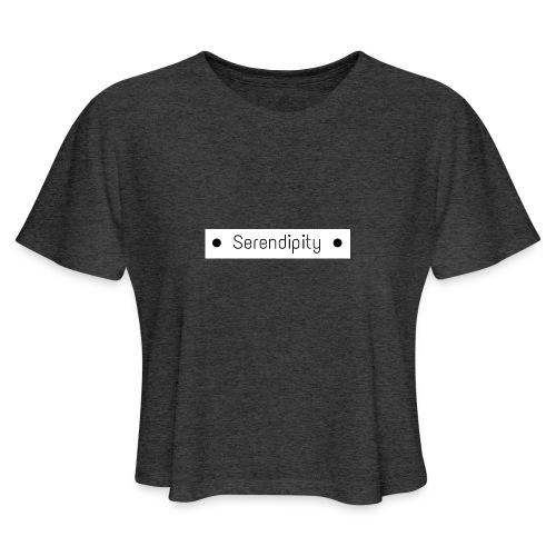 Serendipity - Women's Cropped T-Shirt