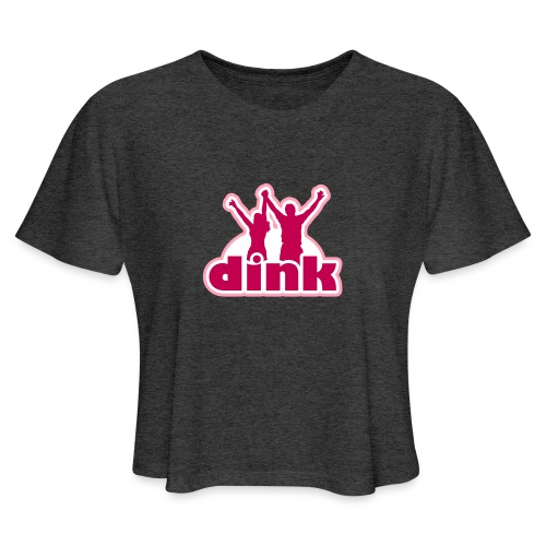 Dink - Women's Cropped T-Shirt
