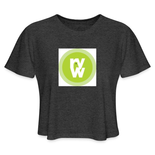 Recover Your Warrior Merch! Walk the talk! - Women's Cropped T-Shirt