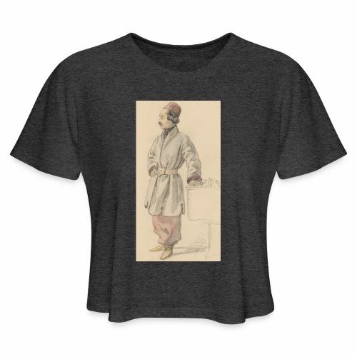 rs portrait sp 01 - Women's Cropped T-Shirt