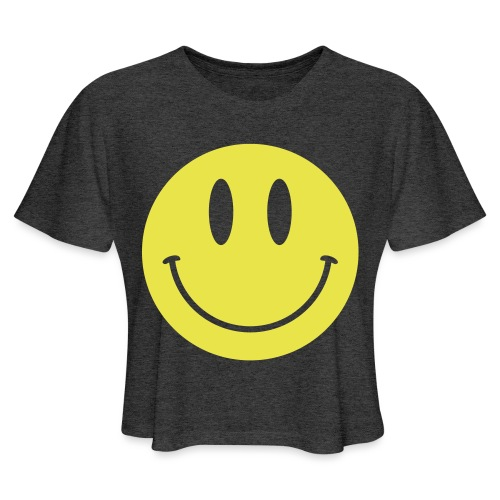 Smiley - Women's Cropped T-Shirt