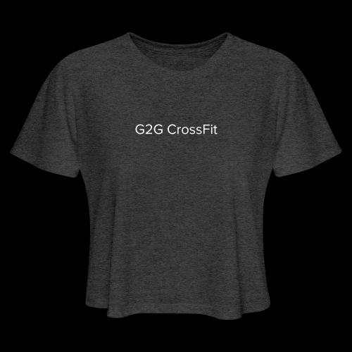 Simplistic G2G - Women's Cropped T-Shirt
