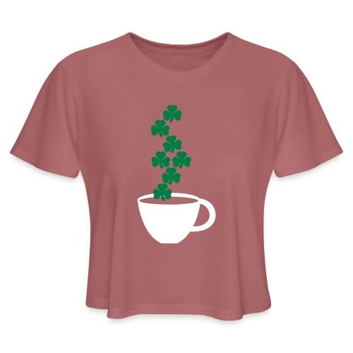 irishcoffee - Women's Cropped T-Shirt