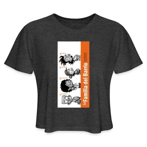 case1iphone5 - Women's Cropped T-Shirt