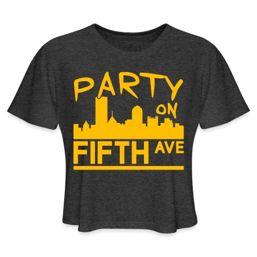 Party on Fifth Ave - Women's Cropped T-Shirt
