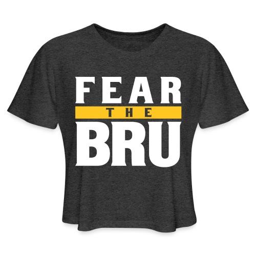 Fear the Bru - Women's Cropped T-Shirt