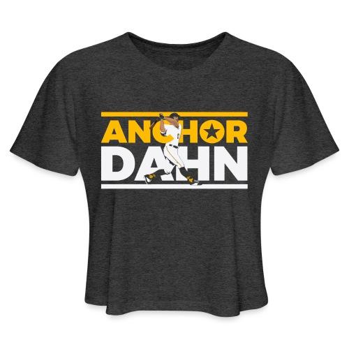 Anchor Dahn - Women's Cropped T-Shirt