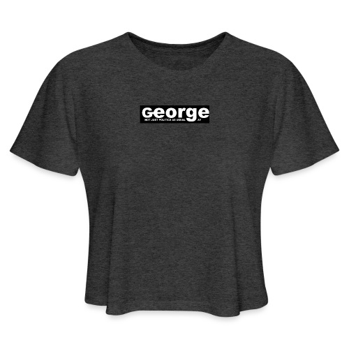 GEORGE NEWS 2021 - Women's Cropped T-Shirt