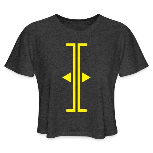 Trim - Women's Cropped T-Shirt