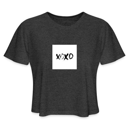 xoxo - Women's Cropped T-Shirt