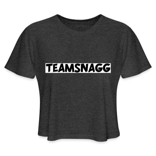 TeamSnagg Logo - Women's Cropped T-Shirt