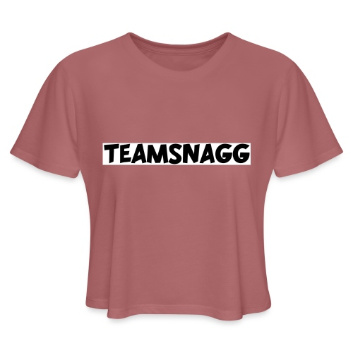 TeamSnagg Logo - Women's Cropped T-Shirt