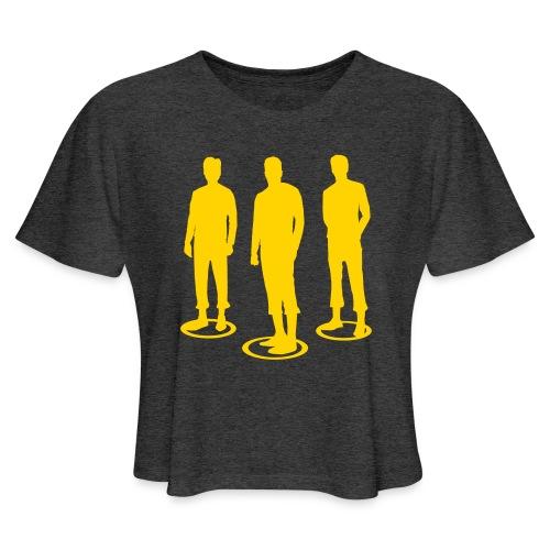 Pathos Ethos Logos 2of2 - Women's Cropped T-Shirt