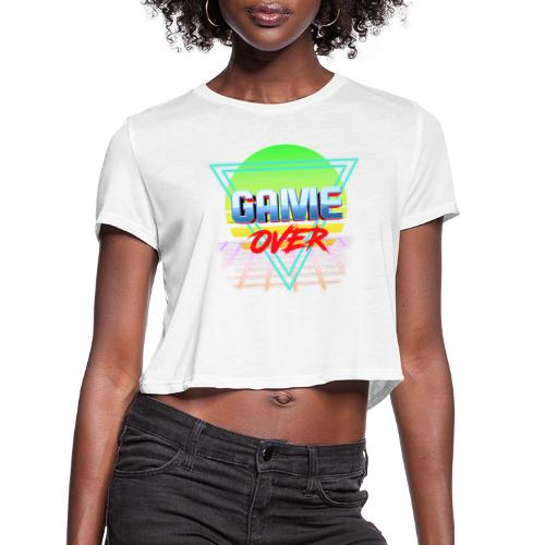 game over - Women's Cropped T-Shirt