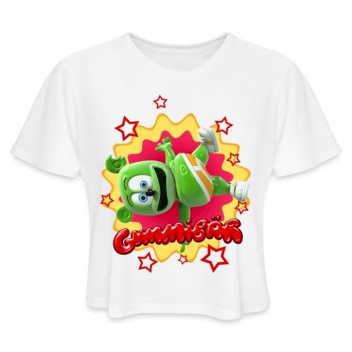 Gummibär Starburst - Women's Cropped T-Shirt