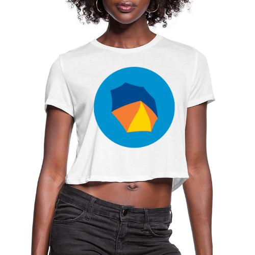 umbelas icon 2 - Women's Cropped T-Shirt