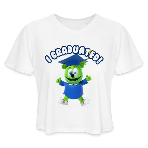 I Graduated! Gummibar (The Gummy Bear) - Women's Cropped T-Shirt