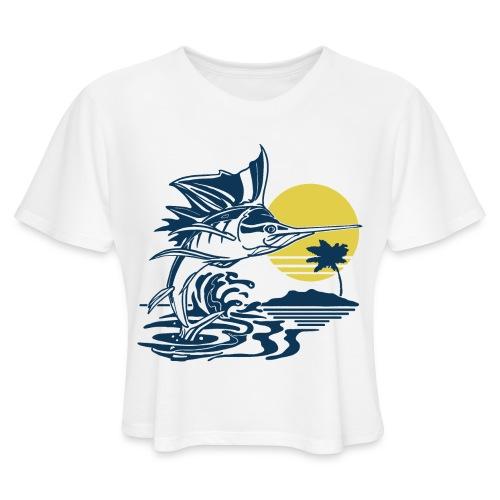 Sailfish - Women's Cropped T-Shirt
